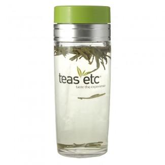 13oz. Teas Logo Tea Traveler with Tea