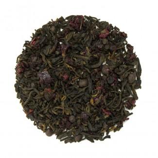 Cherries & Chocolate Pu'erh Tea Dry Leaf