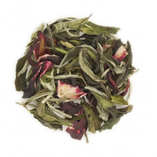 Hibiscus Breeze White Tea Dry Leaf