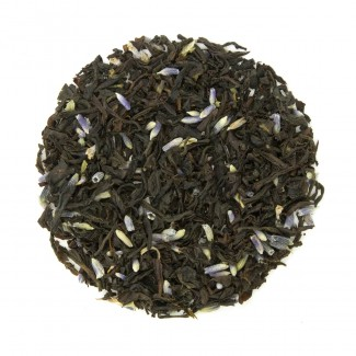 Lavender Earl Grey Organic Black Tea Dry Leaf