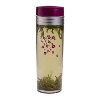 16oz. Plum Blossom Tea Traveler, BPA Free, with Tea