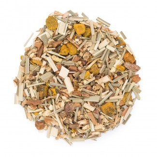 Turmeric Ginger Herbal Tea Blend - dry herbs