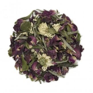 White Rose Organic White Tea Dry Leaf