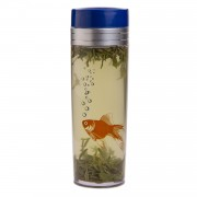 16oz Tea Traveler - Fish Orange (BPA Free)