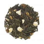 Strawberry Banana Sencha Green Tea - Case (12) 1oz Tins Private Label