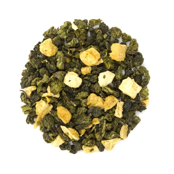 Apricot Oolong Loose Leaf Tea Dry Leaf