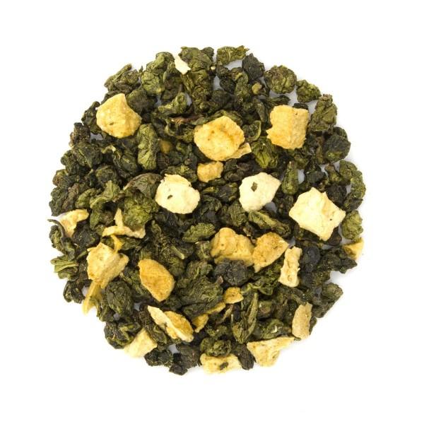 Apricot Oolong Loose Leaf Tea Dry Leaf