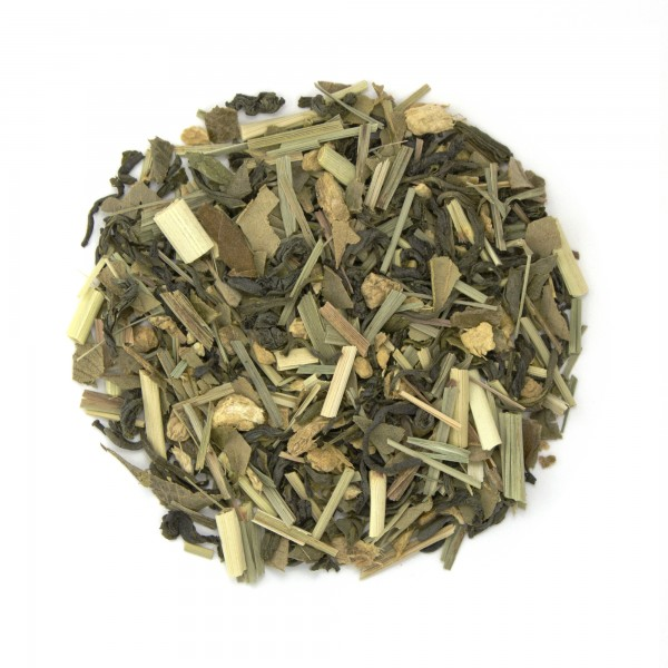 Lemon Ginger Snap Organic Green Tea