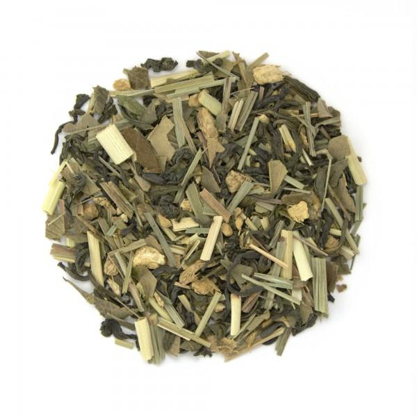 Lemon Ginger Snap Organic Green Tea