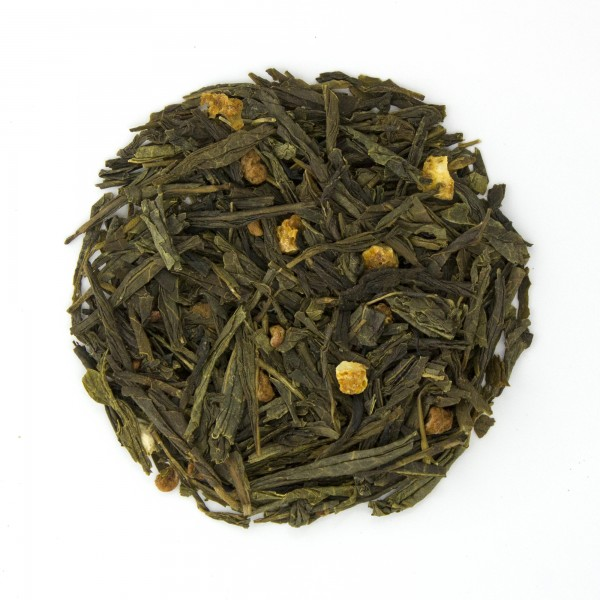 Raspberry Orange Sencha Green Tea