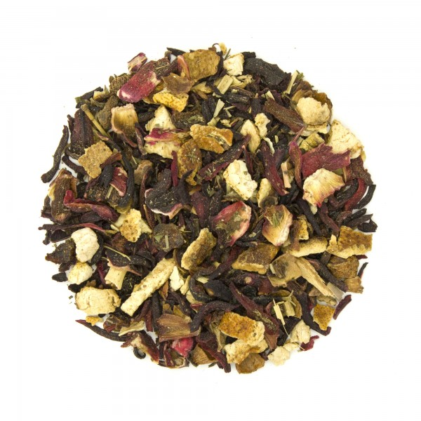 Hibiscus Punch Herbal Tea Dry Blend