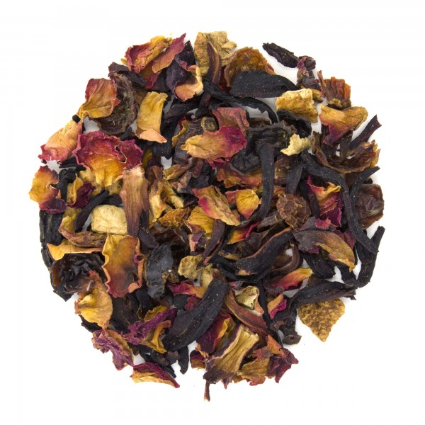 Raspberry Rose Petal Herbal Blend Dry Leaf