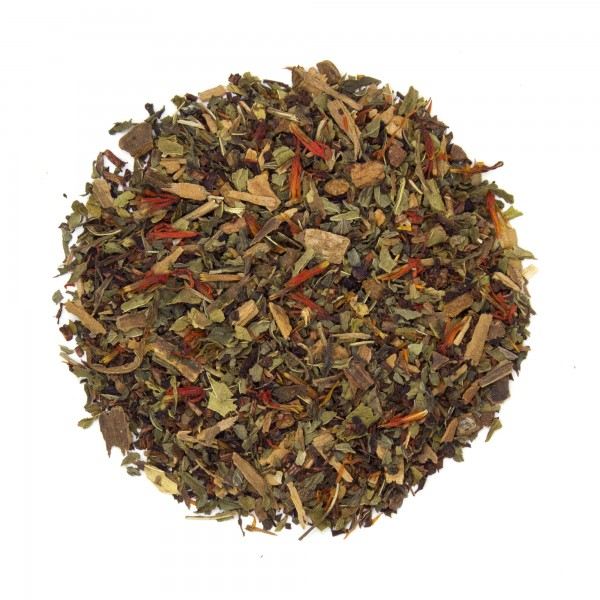 Winter Mint Rooibos Tea Dry Leaf