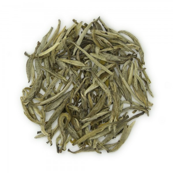 Jasmine Silver Needle Organic White Tea - dry leaves