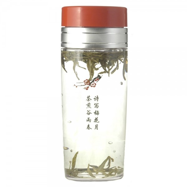 13oz Tea Traveler - Chinese Character, BPA Free, with Tea