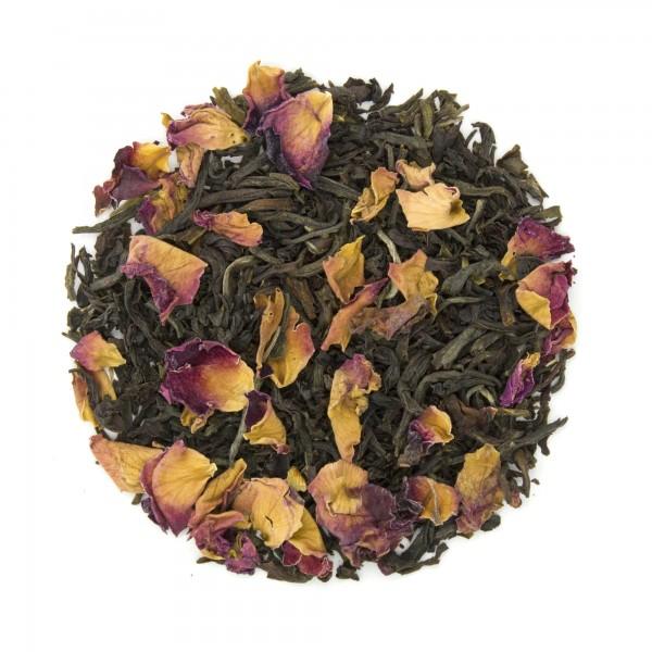 Rosy Earl Grey Organic Black Tea Dry Leaf