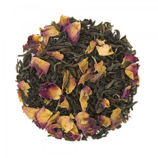 Rosy Earl Grey Organic Black Tea Dry Leaf