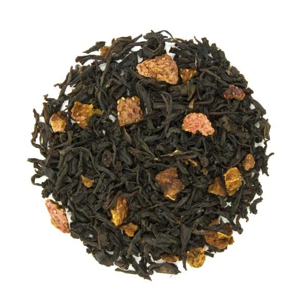 Berry Brulee Organic Black Tea Dry Leaf