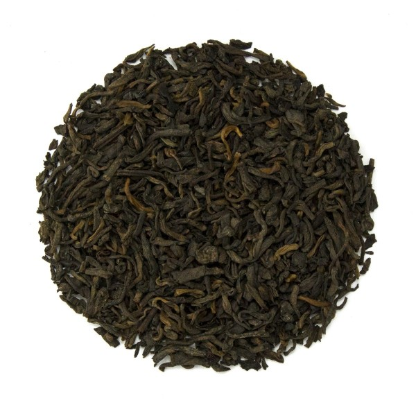 Butter Pecan Pu'erh Tea - Dry Leaf