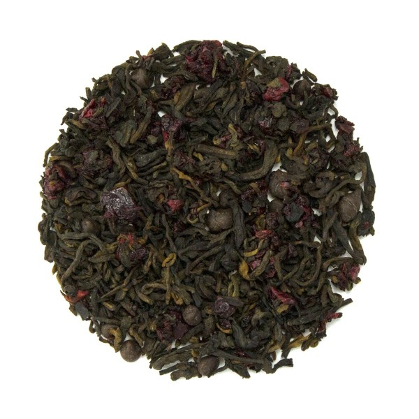 Cherries & Chocolate Pu'erh Tea Dry Leaf