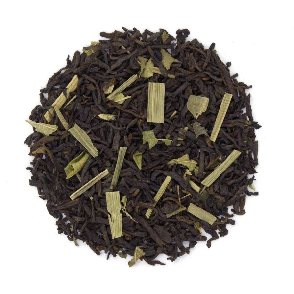Citrus Burst Pu'erh Tea Dry Leaf