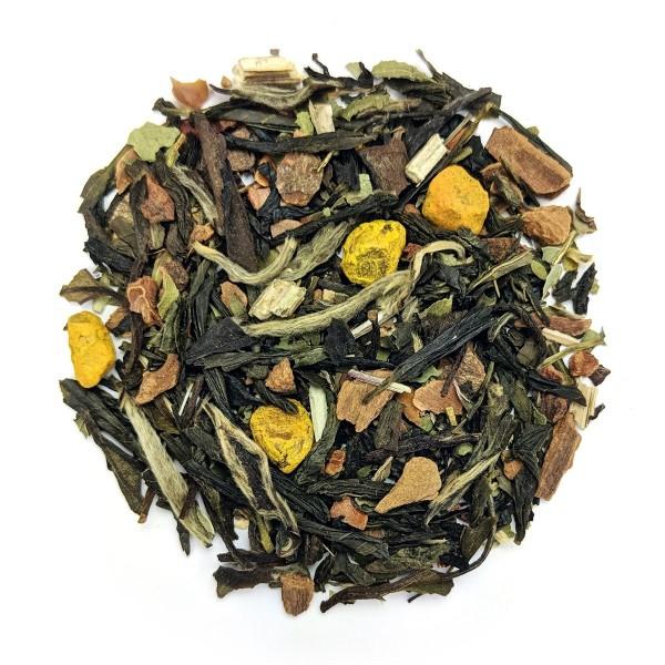 Comforting Cold Green Tea - Dry Leaf