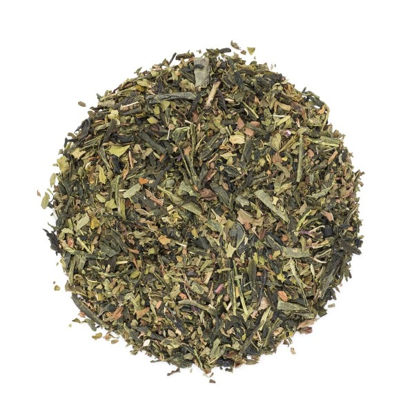 Cucumber Mint Green Tea - dry leaves