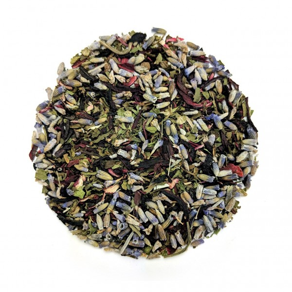 Hibiscus_Lavender_Organic_Herbal_Tea_Blend_Dry_Leaf | Teas_Etc