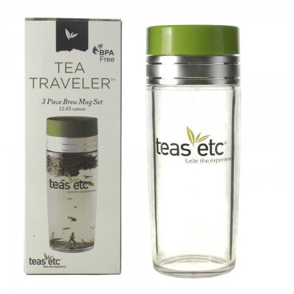 13oz. Teas Logo Tea Traveler with Retail Box