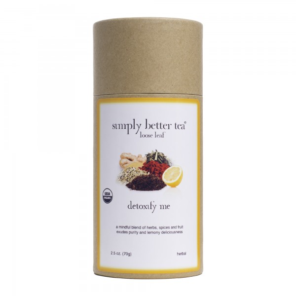 Detoxify Me Organic Herbal Blend Loose Leaf Canister