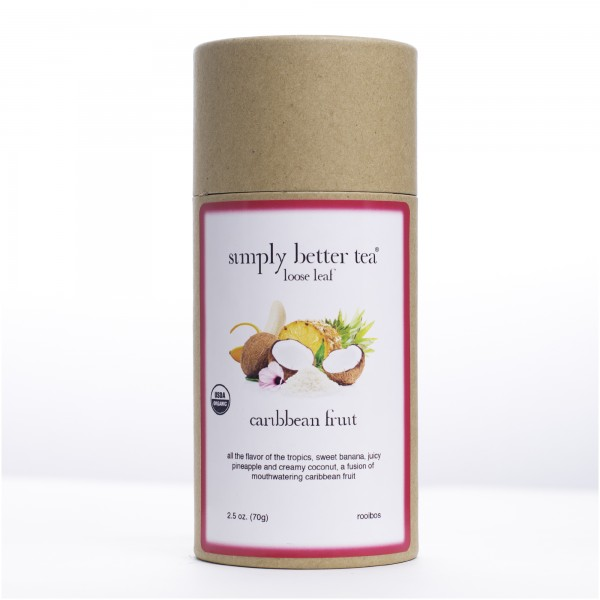 Caribbean Fruit Organic Loose Leaf Canister