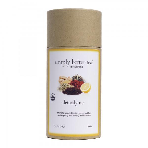 Detoxify Me Organic Herbal Blend 15 Count Sachet Canister
