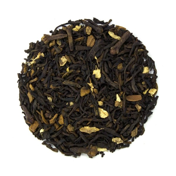 Pumpkin Spice Pu'erh Tea Dry Leaf