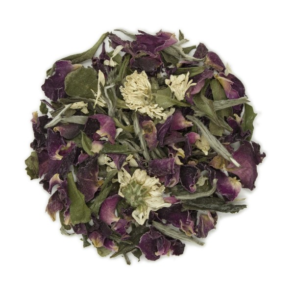 White Rose Organic White Tea Dry Leaf