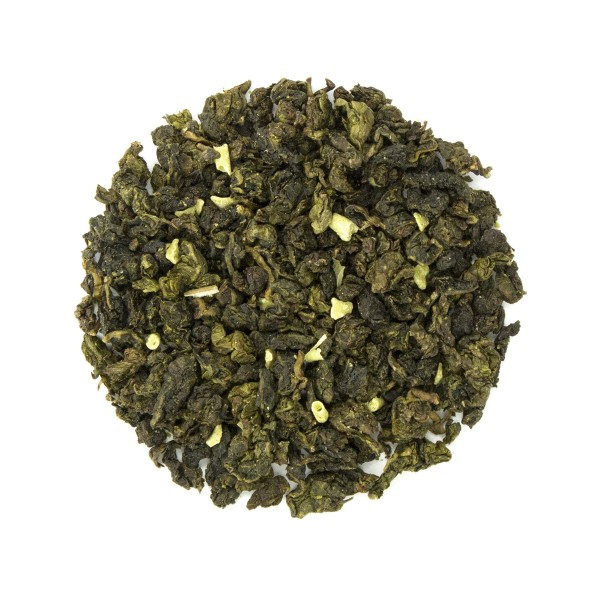Winter White Chocolate Mint Oolong Tea Dry Leaf