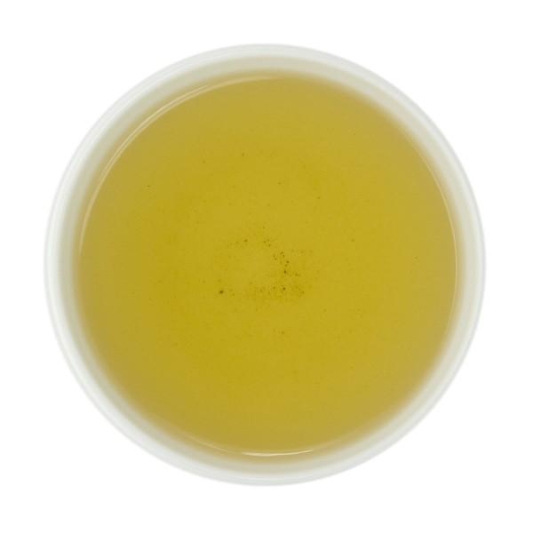 Winter White Chocolate Mint Oolong Tea Liquor