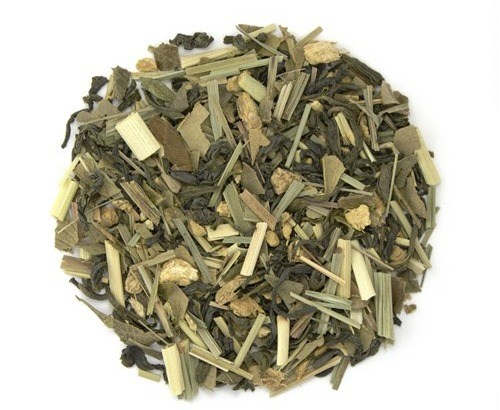 Lemon Ginger Organic Green Tea Video from Teas Etc